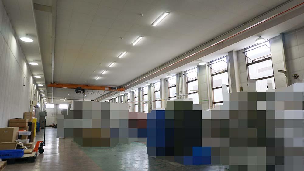 精密部品作製会社の温熱環境改善施工